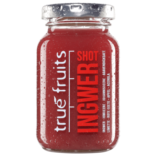 True Fruits Ingwer Shot red 99ml