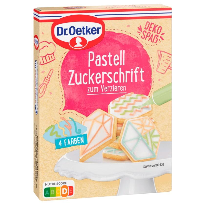 Dr. Oetker Pastell Zuckerschrift 4x25g