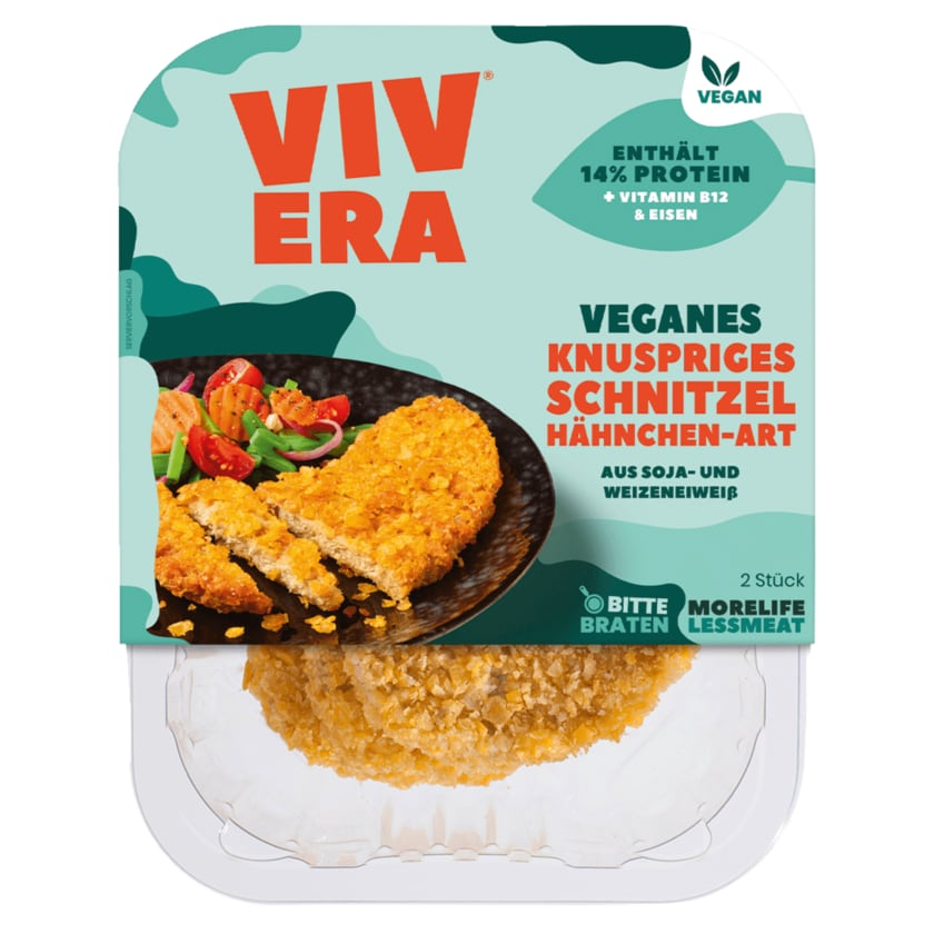 Vivera veganes Schnitzel Hähnchen-Art 200g