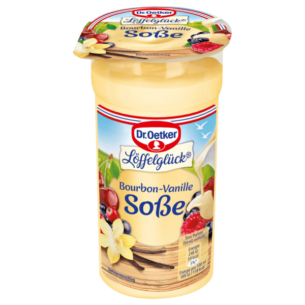 Dr. Oetker Bourbon-Vanillesoße 250ml