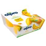 Alpro Fermentiertes Sojaprodukt, Mango, Kinder 4x50g