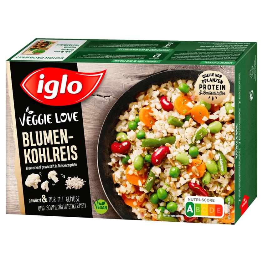 Iglo Veggie Love mit Blumenkohlreis 400g
