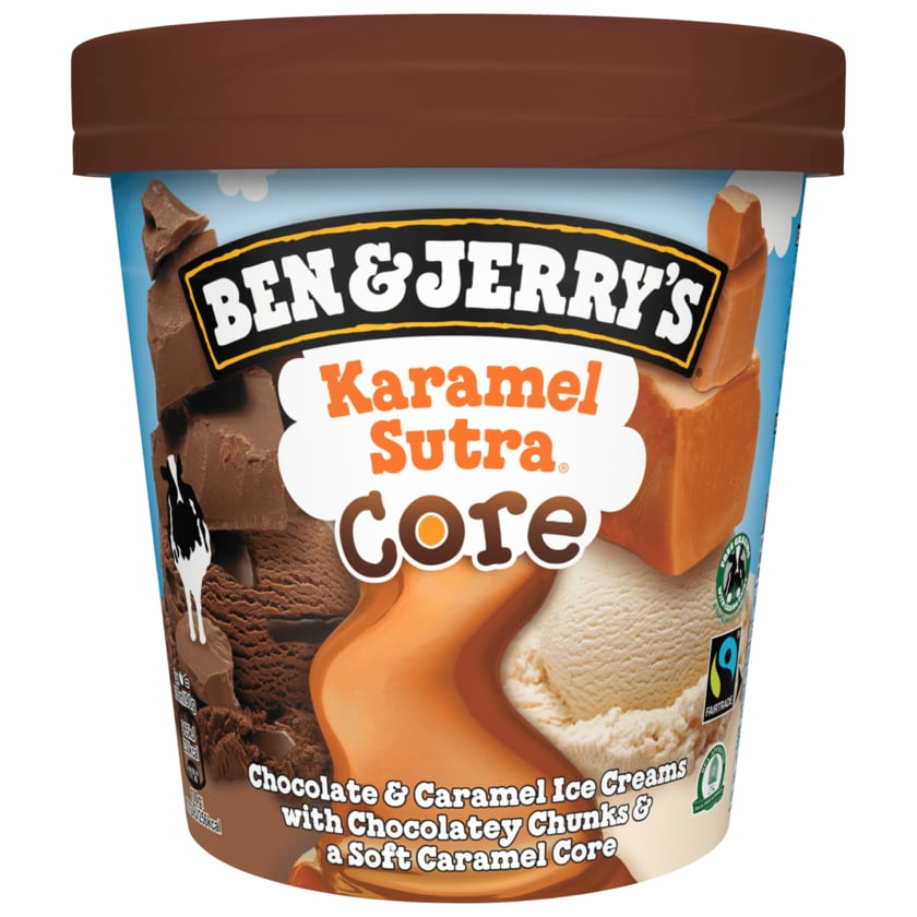 Ben & Jerry's Eis Karamel Sutra Core 465ml