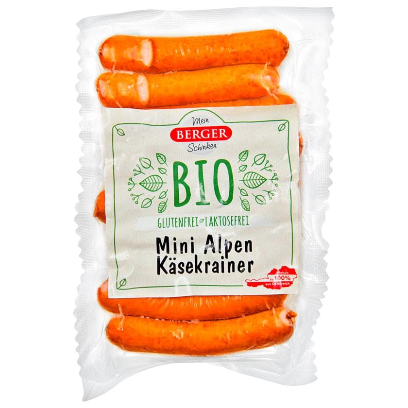 Berger Bio Mini Alpen Käsekrainer 192g