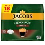 Jacobs Crema Pads Kräftig 118g, 18 Pads