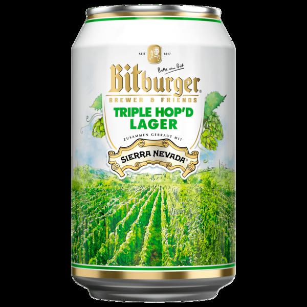 Bitburger Triple Hop'd Lager 0,33l