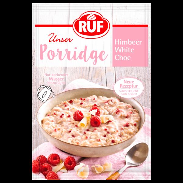 Ruf Porridge Himbeer White Choc 65g