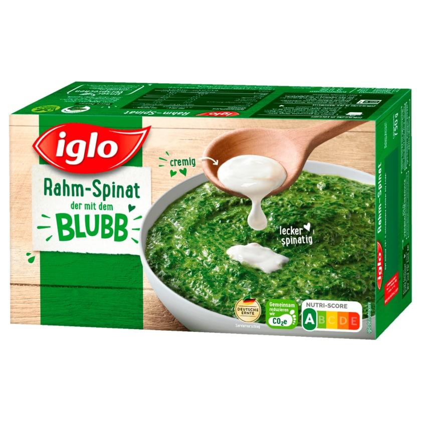 Iglo Rahm-Spinat portionierbar 750g