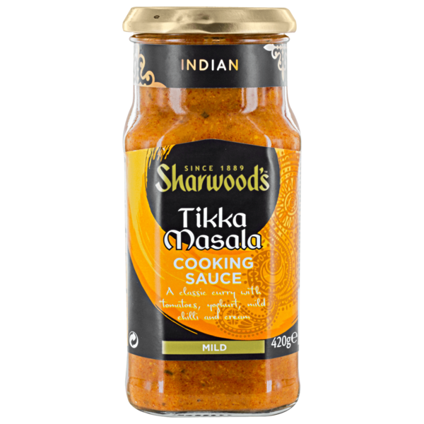 Sharwood's Tikka Masala Cooking Sauce mild 420g