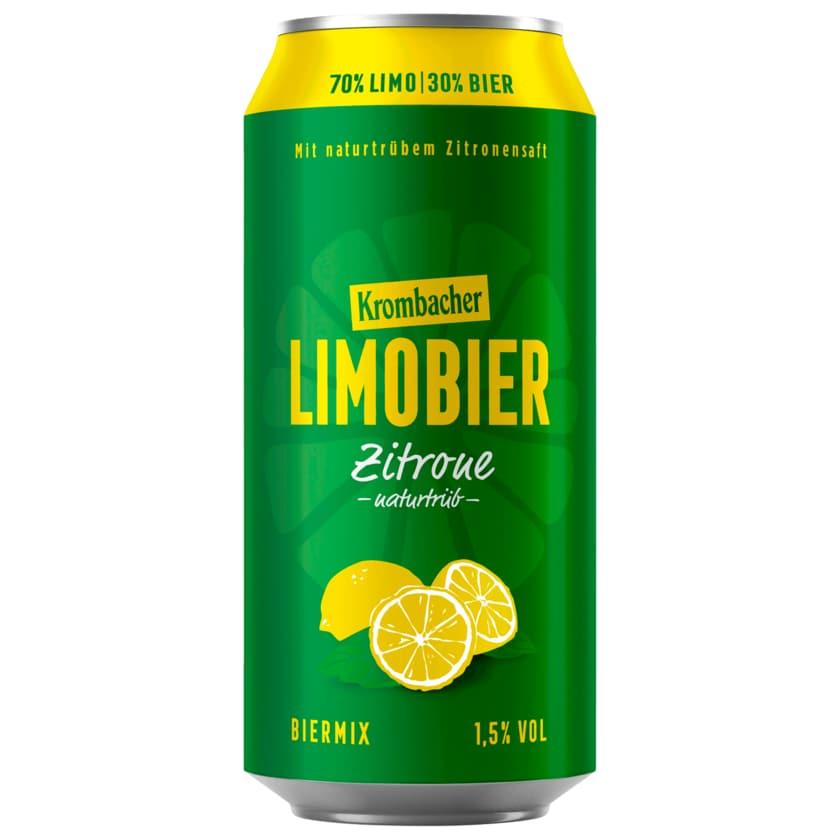 Krombacher Limobier Zitrone 0,5l