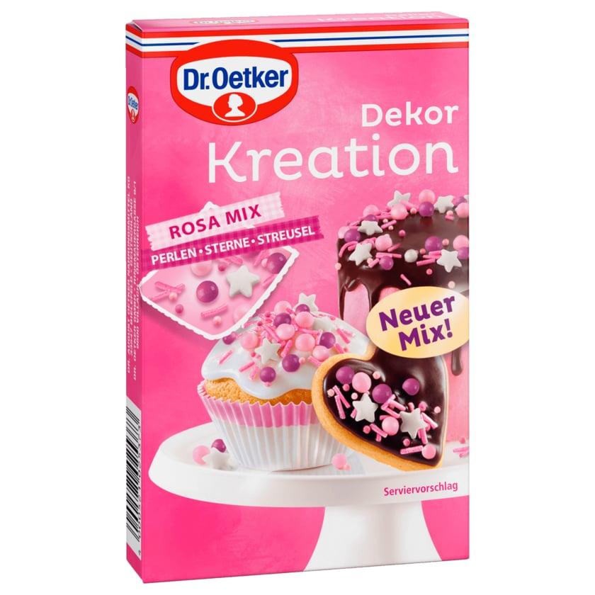 Dr. Oetker Dekor Kreation Rosa Mix 60g