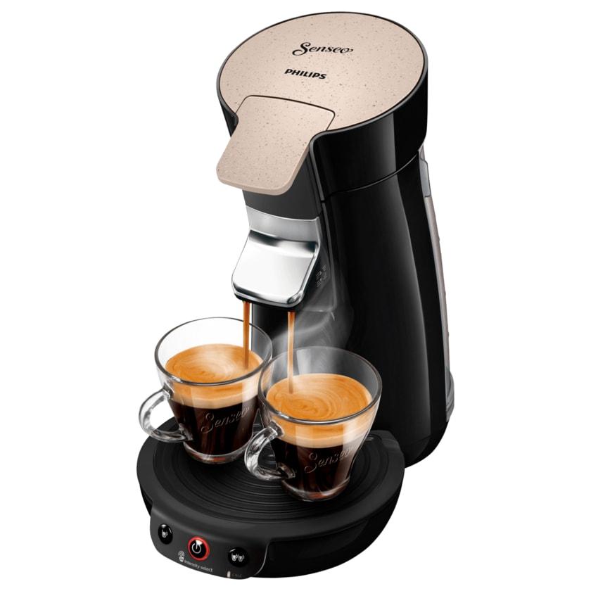 Philips Senseo Kaffeepadmaschine Eco Viva Café HD6562/35 Schwarz 1450W