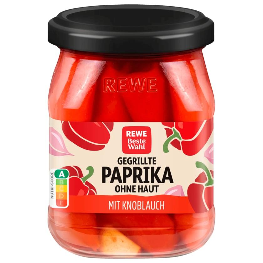 REWE Beste Wahl Gegrillte Paprika mit Knoblauch 320g
