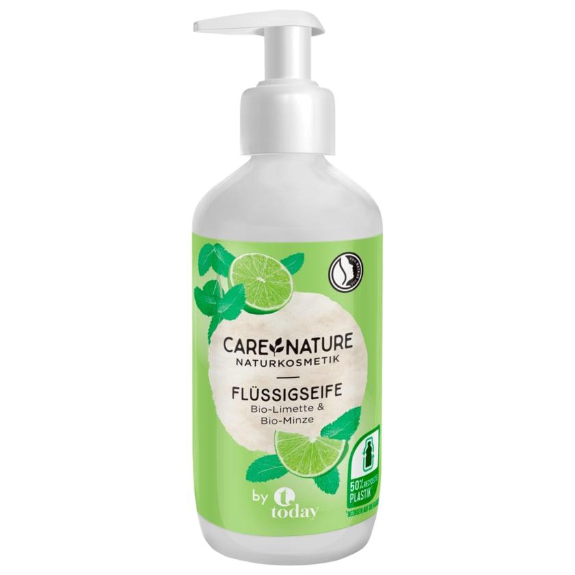 Care Nature Naturkosmetik Flüssigseife Bio-Limette & Bio-Minze 300ml