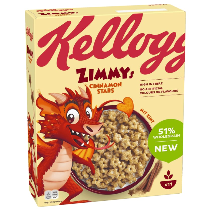 Kellogg's Zimmys 330g