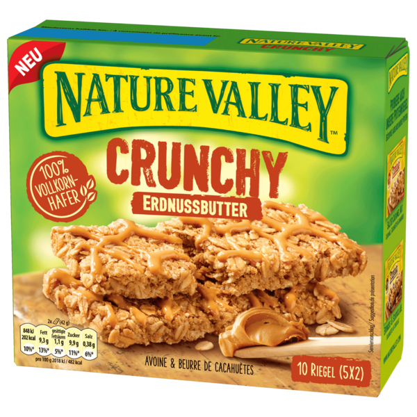 Nature Valley Crunchy Erdnussbutter 10x42g