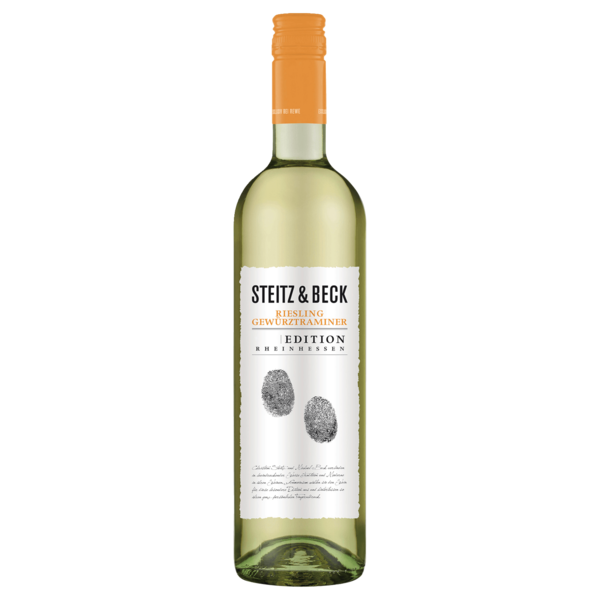 Steitz & Beck Weißwein Riesling Gewürztraminer trocken 0,75l