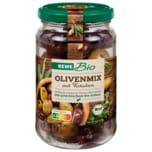 REWE Bio Olivenmix mit Kräutern 180g