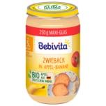 Bebivita Bio Zwieback in Apfel-Banane 250g