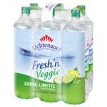 Lichtenauer Mineralwasser Fresh'n Veggie Gurke-Limette 6x1,5l