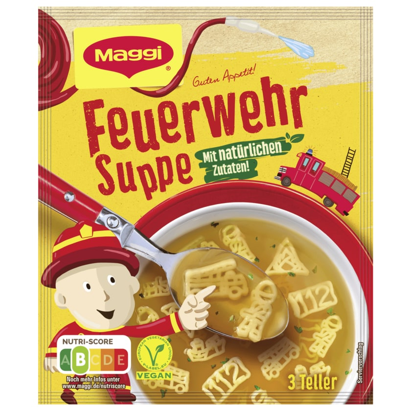 Maggi Feuerwehr Suppe ergibt 750ml
