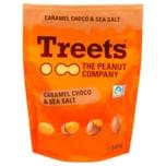 Treets Caramel Choco & Sea Salt Peanuts 140g
