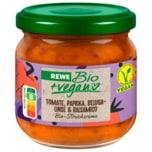 REWE Bio Streichcreme Tomate, Paprika, Belugalinse & Balsamico 180g