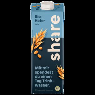 Share Bio Hafer-Drink Natur vegan 1l