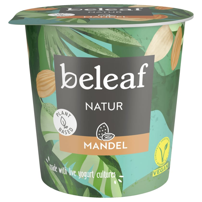 Beleaf Mandel-Joghurt-Alternative Natur vegan 350g