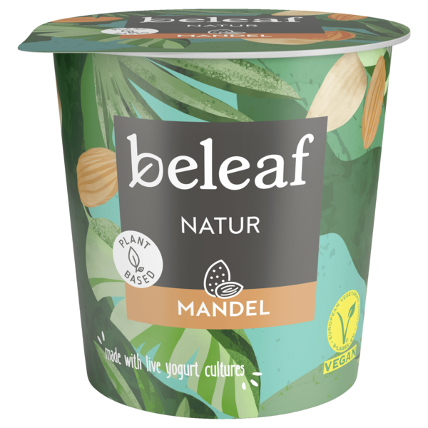 Beleaf Mandel Joghurt-Alternative Natur vegan 350g