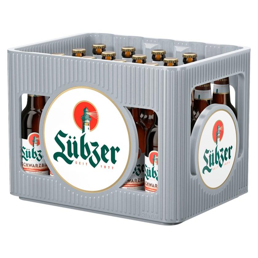 Lübzer Schwarzbier 20x0,5l