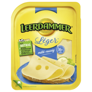 Leerdammer Léger mild-nussig 160g