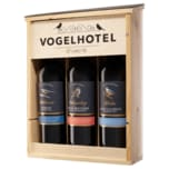 Moselland Rotwein Vogelhotel trocken 3x0,75l