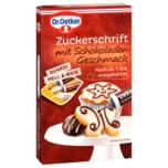 Dr. Oetker Zuckerschrift Schokolade 75g