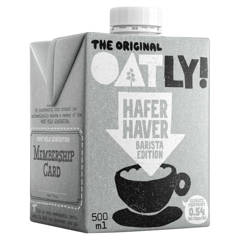Oatly Haferdrink Barista Edition 0,5l