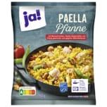 ja! Paella Pfanne mit Meeresfrüchten, Seelachsfilet und Hähnchenbrust 750g