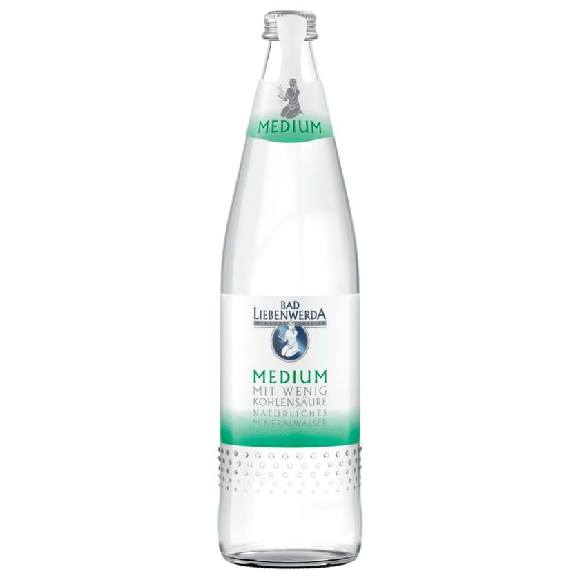 Bad Liebenwerda Mineralwasser Medium 0,75l