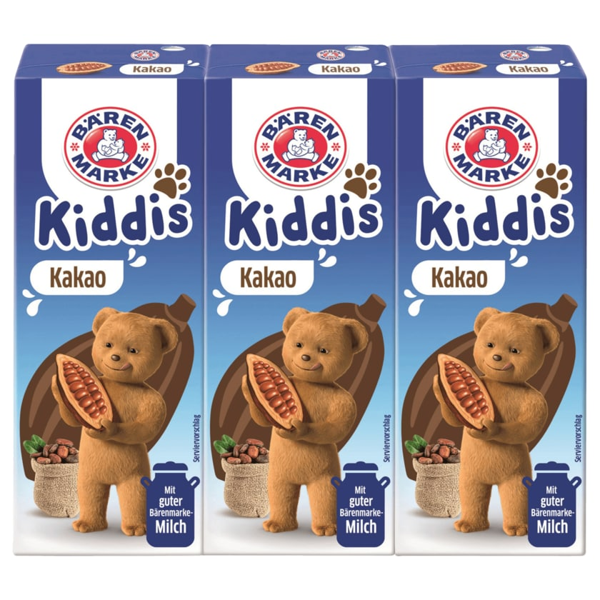 Bärenmarke Kiddis Kakao 3x0,2l