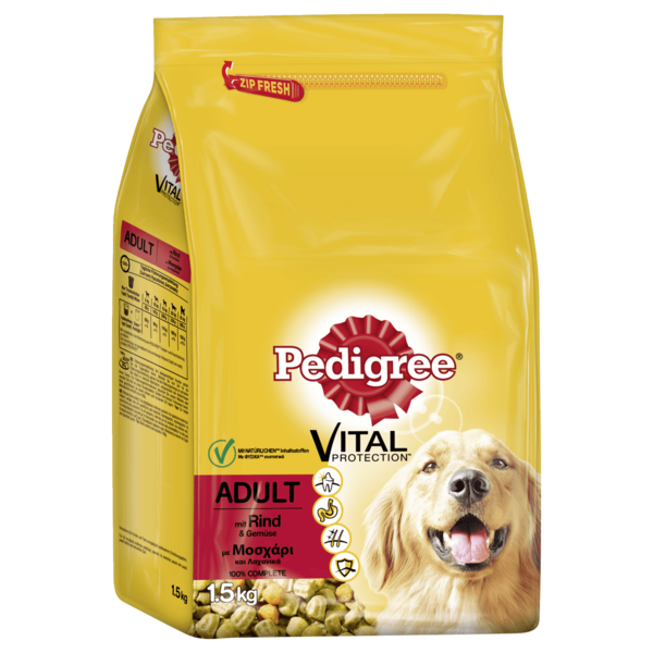Pedigree Trockenfutter Vital Protection Adult 1,5kg