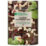 REWE Bio Cashew-Cranberry-Mix 150g