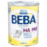 Nestlé BEBA Expert Ha Pre Hydrolysierte Anfangsnahrung von Geburt an 800g