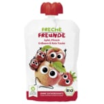 Freche Freunde Apfel, Pfirsich, Erdbeere & rote Traube 100g