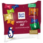 Ritter Sport Bunter Weihnachtsmix mini & Schokowürfel 195g