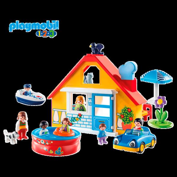 Playmobil 1.2.3 Ferienhaus 9527 (4+ Jahre)*