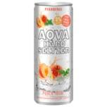 Aqva Hard Seltzer Peach Mint Cocktail 0,25l