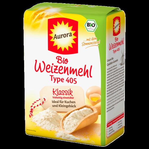 Aurora Bio Weizenmehl Type 405 1kg