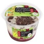 REWE to go Overnight Oats Kirsche mit Mandeldrink, Haferflocken und Kakao 180g