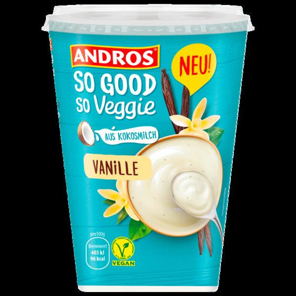 Andros So Good So Veggie Joghurt-Alternative Vanille 400g
