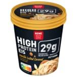 REWE Beste Wahl High Protein Eis Vanille Salted Caramel 500ml