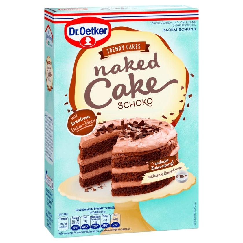 Dr. Oetker Naked Cake Schoko
